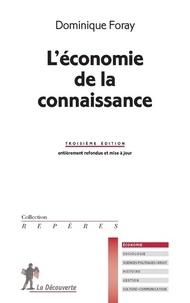 Dominique Foray - L'économie de la connaissance.