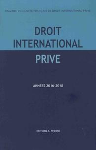 Dominique Foussard - Travaux du Comité français de droit international privé - Années 2016-2017, 2017-2018.