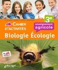 Dominique Galiana et Sophie Guguen - Biologie écologie 3e enseignement agricole - Cahier d'activités.