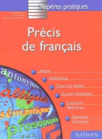 Dominique Giovacchini et Jean-Claude Fozza - Précis de français.