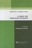 Dominique Goubau - Le droit des personnes physiques.