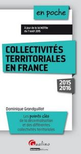Dominique Grandguillot - Collectivités territoriales en France.