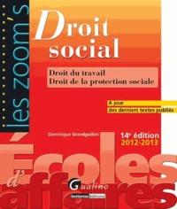 Dominique Grandguillot - Droit social - Droit du travail, Droit de la protection sociale.