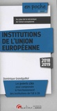 Dominique Grandguillot - Institutions de l'Union européenne.