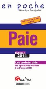 Paie - Les points clés des opérations relatives à la paie en 2014.pdf