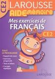 Dominique Grandpierre et Françoise Scales-Mars - Mes exercices de français CE2.