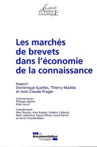 Dominique Guellec et Thierry Madiès - Les marchés de brevets dans l'économie de la connaissance.