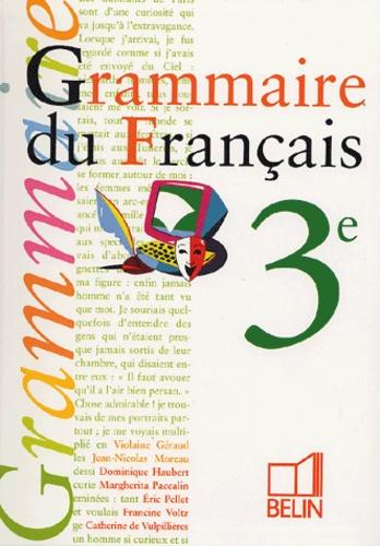 Grammaire Du Francais 3e