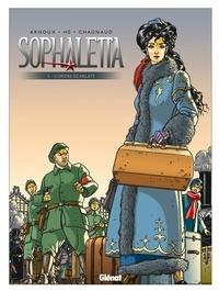 Dominique Hé et Erik Arnoux - Sophaletta - Tome 5 : L'Ordre écarlate.
