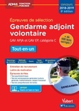 Dominique Herbaut et Bernadette Lavaud - Epreuves de sélection Gendarme adjoint volontaire GAV APJA et GAV EP - Tout-en-un.