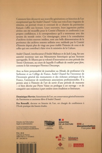 André Chastel, portrait d'un historien de l'art (1912-1990). De sources en témoignages