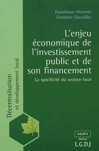 Lenjeu économique de linvestissement public et de son financement - La spécificité du secteur local.pdf