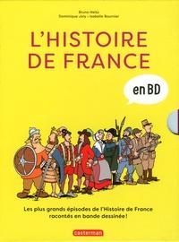 Dominique Joly et Bruno Heitz - L'histoire de France en BD Intégrale : .