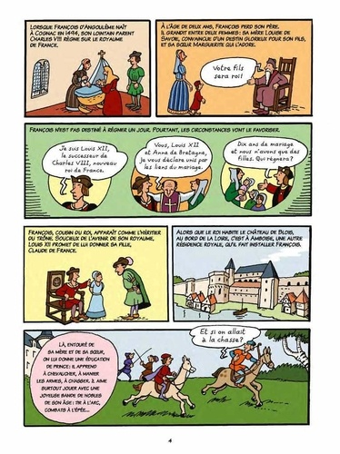 L'histoire de France en BD Tome 7 François 1er et la Renaissance