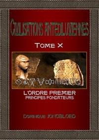 Dominique Jongbloed - Civilisations antediluviennes—t10.