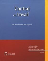 Dominique Jourdan - Contrat de travail - Du recrutement à la rupture. 1 Cédérom