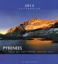 Dominique Julien - Pyrénées Calendrier 2013 - Lacs et torrents.