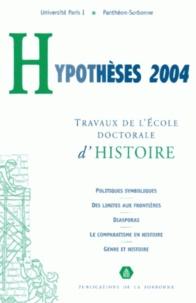 Dominique Kalifa - Hypothèses 2004 - Travaux de l'Ecole doctorale d'histoire de l'Université Paris I Panthéon-Sorbonne.