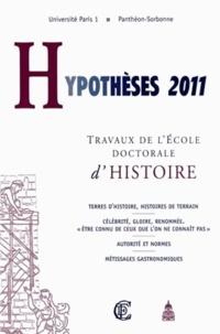 Dominique Kalifa - Hypothèses 2011 - Travaux de l'Ecole doctorale d'histoire.