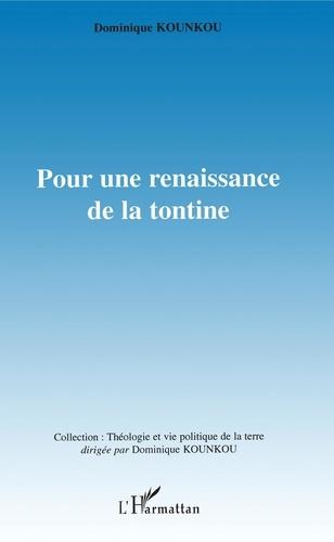 Dominique Kounkou - Pour une renaissance de la tontine.