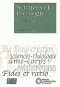 Dominique Lambert - Sciences et theologie - les figures d'un dialogue - Les figures d'un dialogue.