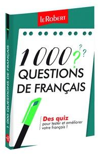 Dominique Le Fur - 1000 questions de français.