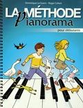 Dominique Le Guern et Roger Cohen - La méthode Pianorama - Pour débutants.