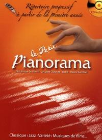 Dominique Le Guern et Jacques Guionet - Le petit pianorama - Répertoire progressif à partir de la première année. 1 CD audio
