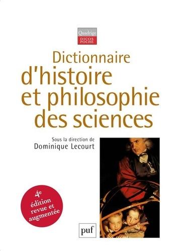 Dominique Lecourt et Françoise Balibar - Dictionnaire d'histoire et philosophie des sciences.