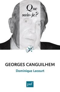 Dominique Lecourt - Georges Canguilhem.