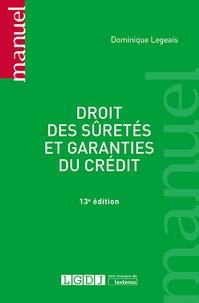 Droit des sûretés et garanties du crédit - Dominique Legeais pdf epub