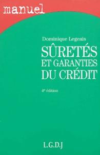 Dominique Legeais - Sûreté et garanties du crédit.