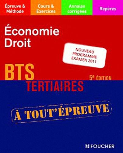 Dominique Lemoine et Hélène Thomas - Economie-Droit BTS tertiaires.