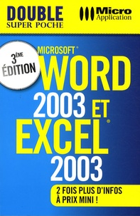 Dominique Lerond - Word 2003 & Excel 2003.