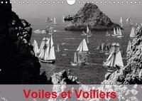 Dominique Leroy - Voiles et Voiliers (Calendrier mural 2017 DIN A4 horizontal) - Les grands voiliers possèdent un charme irrésistible et une allure fascinante. (Calendrier mensuel, 14 Pages ).