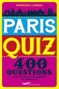 Histoiresdenlire.be Paris quiz - 400 questions Image