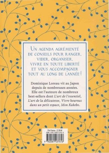 Agenda L'art d'organiser sa vie  Edition 2019