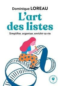 Dominique Loreau - L'art des listes.