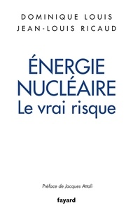 Dominique Louis et Jean-Louis Ricaud - Energie nucléaire - Le vrai risque.