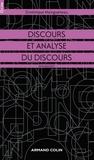 Dominique Maingueneau - Discours et analyse du discours.