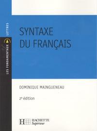 Dominique Maingueneau - Syntaxe du français.