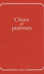 Dominique Martin Morin - Choix de poèmes.