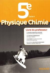 Histoiresdenlire.be Physique Chimie 5e - Livre du professeur Image