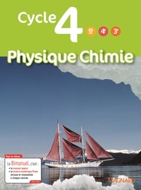 Dominique Meneret - Physique Chimie Cycle 4 (5e/4e/3e).