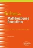 Dominique Namur - Fiches de Mathématiques financières.
