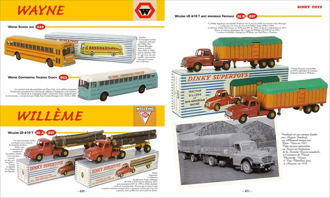 Dinky Toys. Autos, camions, engins