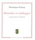 Dominique Penloup - Pastiches et mélanges à partir de Pierre Alechinsky.