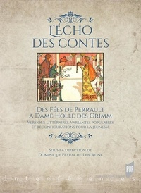 Dominique Peyrache-Leborgne - L'écho des contes - Des fées de Perrault à Dame Holle des Grimm - Versions littéraires, variantes populaires et reconfigurations pour la jeunesse.