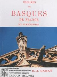 Deedr.fr Origines des Basques de France et d'Espagne Image