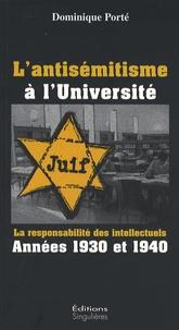 Lantisémitisme à lUniversité - La responsabilité des intellectuels années 1930 et 1940.pdf